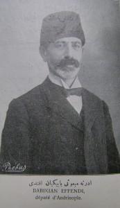 Babikyan Efendi Servet-i Fünun No 917