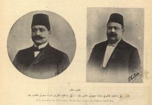 Talat Paşa (Solda) Servet-i Fünun No 1029
